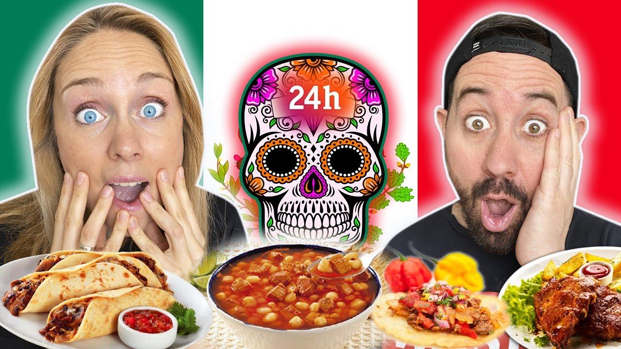 24h comiendo COMIDA MEXICANA 🇲🇽🌮 @Soy Elisa  pozole, chilaquiles, huevos rancheros, tacos  Madrid..