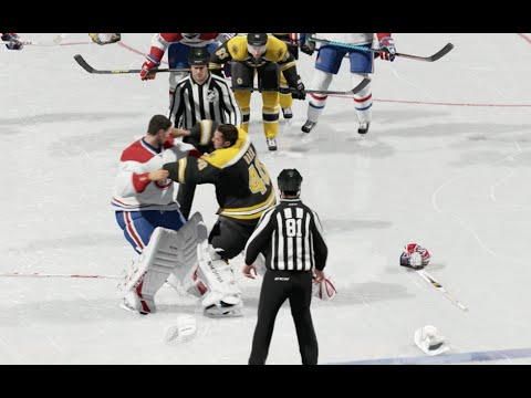 Best Of Goalie Fights Compilation - NHL 15 On Xbox One