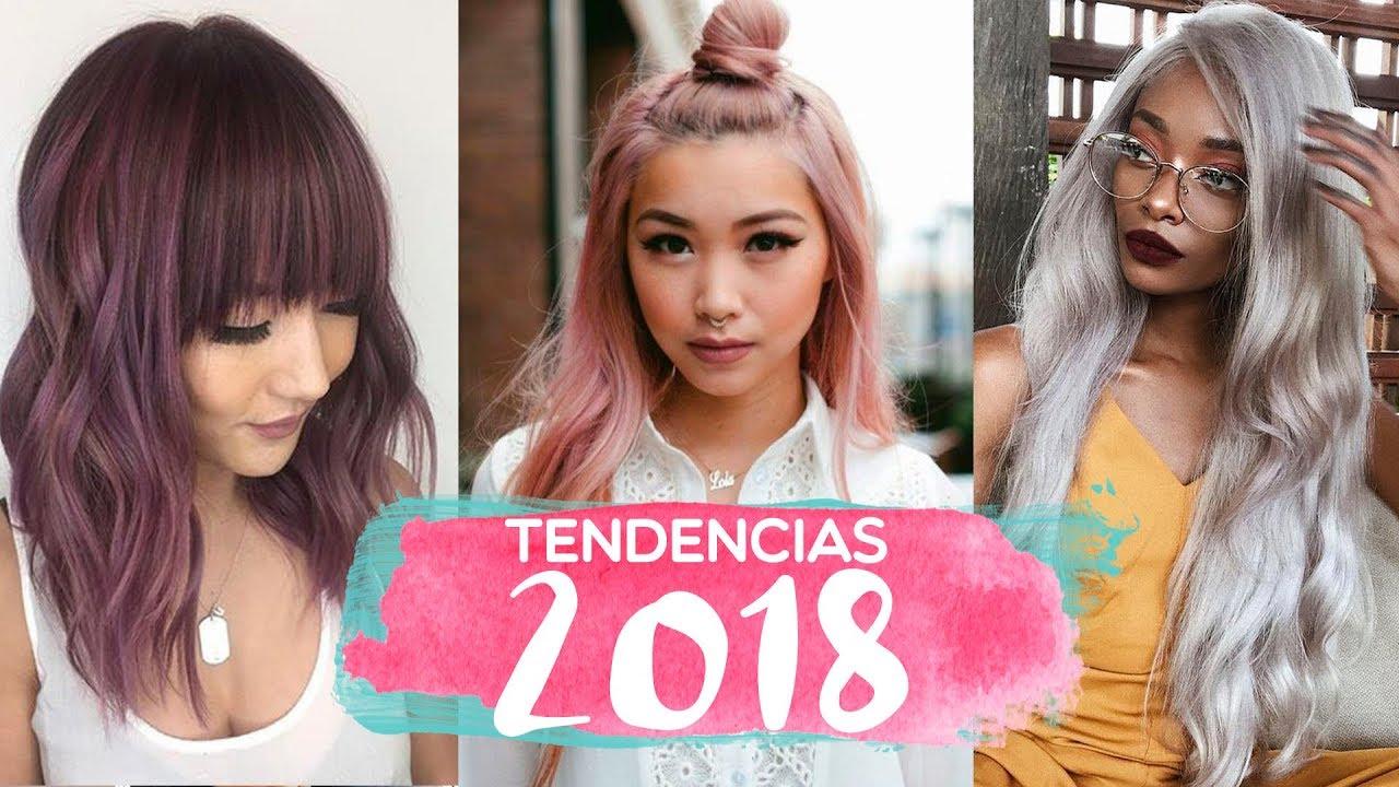 10 tendencias de color para 2018 cabello youtube for Tendencia de color de moda