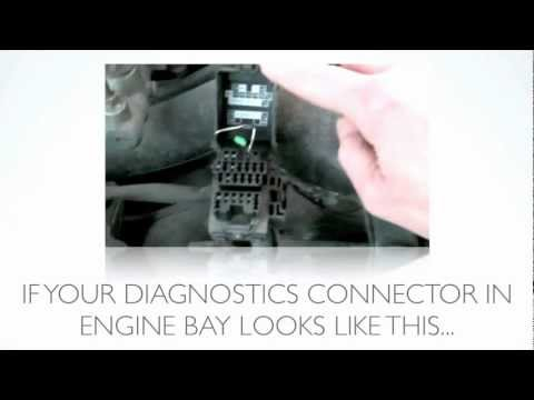 Mazda 17-pin engine diagnostics - YouTube
