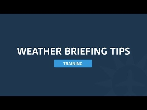 ForeFlight - Aviation Weather Briefing Tips Every Pilot Should Know With Scott Dennstaedt