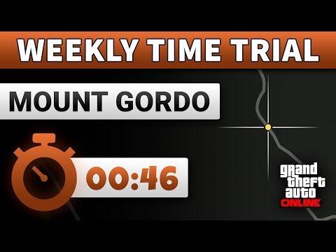 GTA 5 Time Trial This Week Mount Gordo | GTA ONLINE WEEKLY TIME TRIAL (00:46)