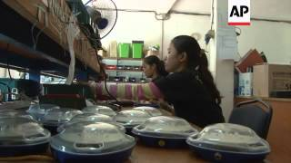 Solar energy lighting up rural areas of Cambodia