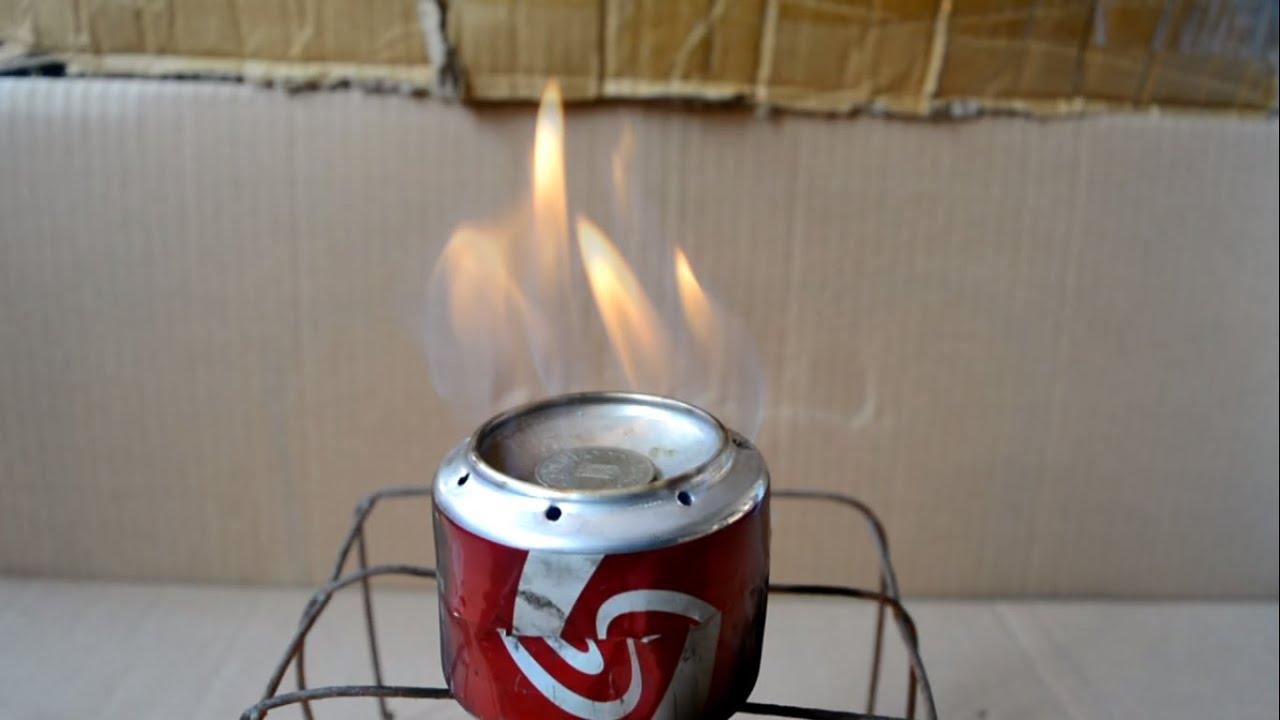 Cum sa faci un mini-aragaz (tutorial)-How to make an coca-cola stove