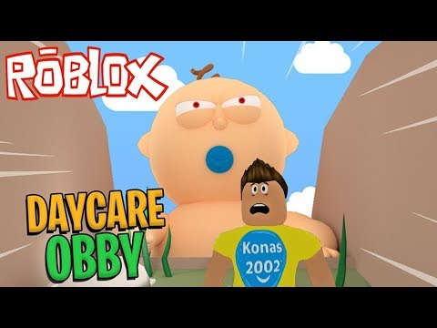 Roblox Escape Giant Baby In Evil Day Care Obby Roblox