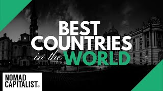 The Best Countries in the World to Live in
