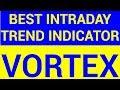 Best Intraday Trend Indicator - Vortex   HINDI