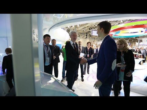 Presentation of Texel Portal to Sergey Sobyanin, the mayor of Moscow