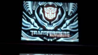 Transformers autobots ds the game charatère