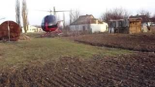 Продается новый двухместный вертолет