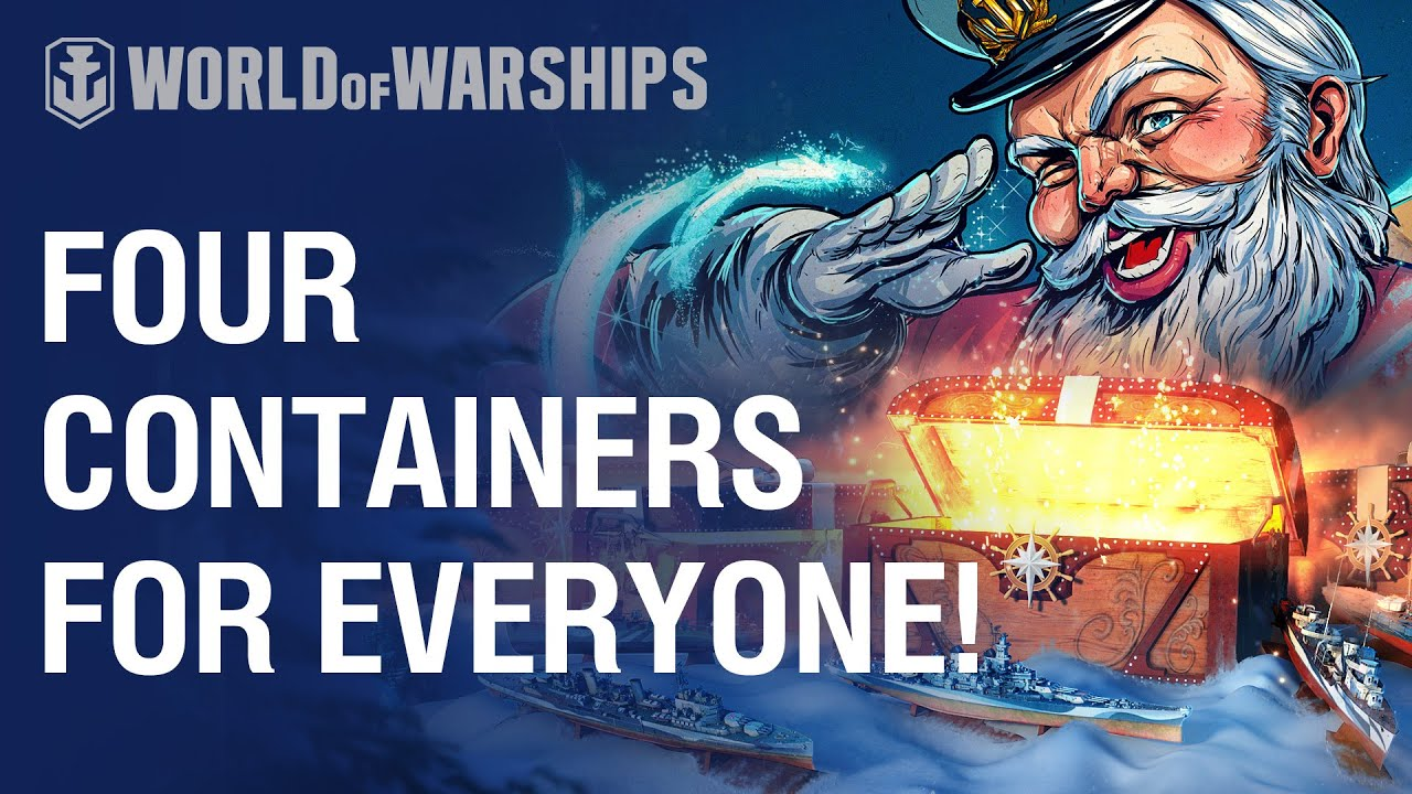World Of Warships Christmas Containers 2021 Santa S Containers A Time Of Gifts And Gifting World Of Warships