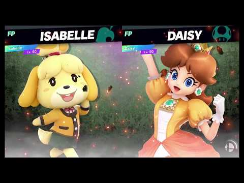 Super Smash Bros Ultimate Amiibo Fights   Request #1329 Isabelle vs Daisy thumbnail