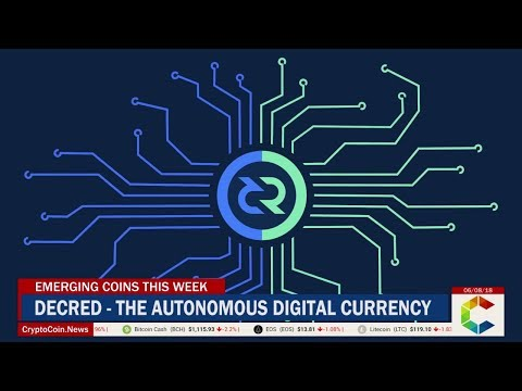 Emerging Coins This Week: Decred – The Autonomous Digital Currency