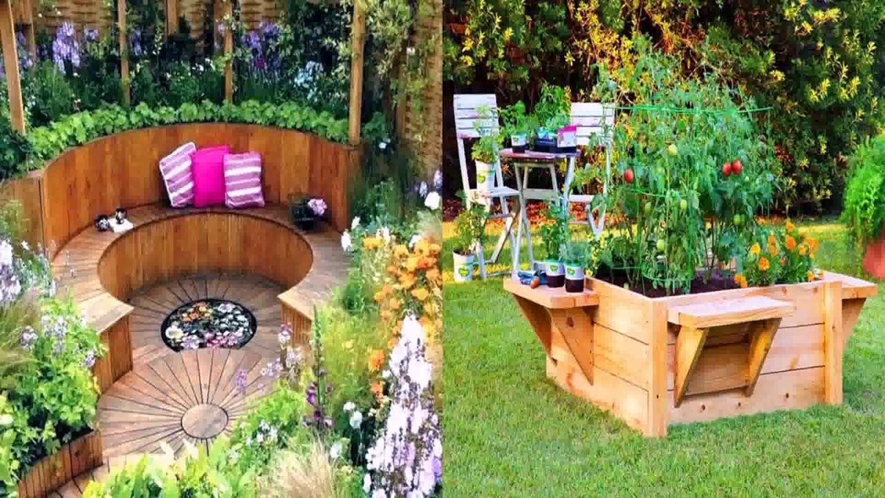 Small Home Vegetable Garden Ideas - YouTube