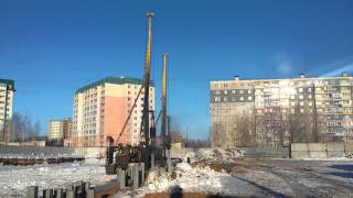 Погружение свай 2ва копра  г.Челябинск ООО