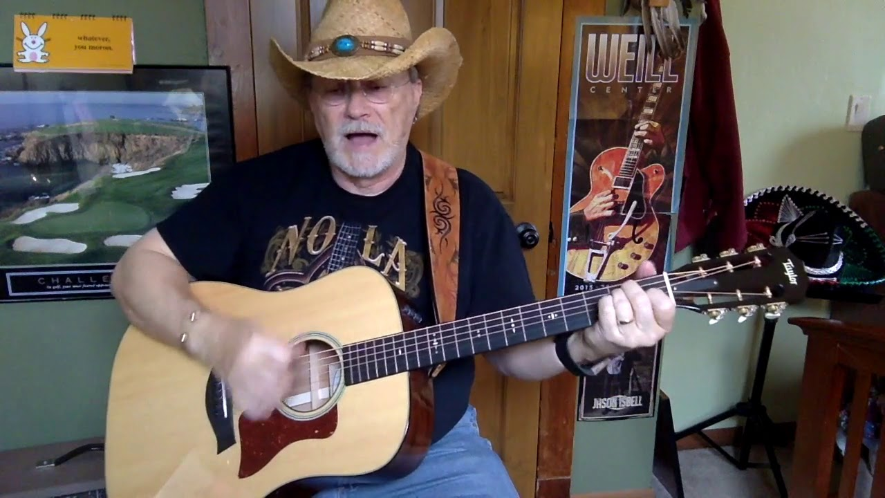 2331 Dont Worry Marty Robbins Cover Vocal Acoustic Guitar