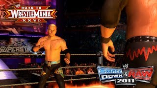 "WWE Smackdown vs Raw 2011 - ""INFERNO MATCH!!"" (Road To WrestleMania/RTWM Ep 4)"
