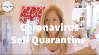 Coronavirus - Covid 19 Self Quarantine Directions