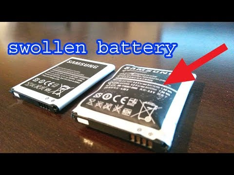 How to fix swollen phone battery, phone battery repairing