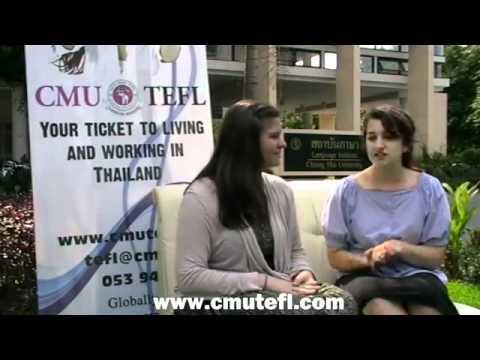 CMUTEFL Graduates - Ruth and Jenny, USA - YouTube.flv