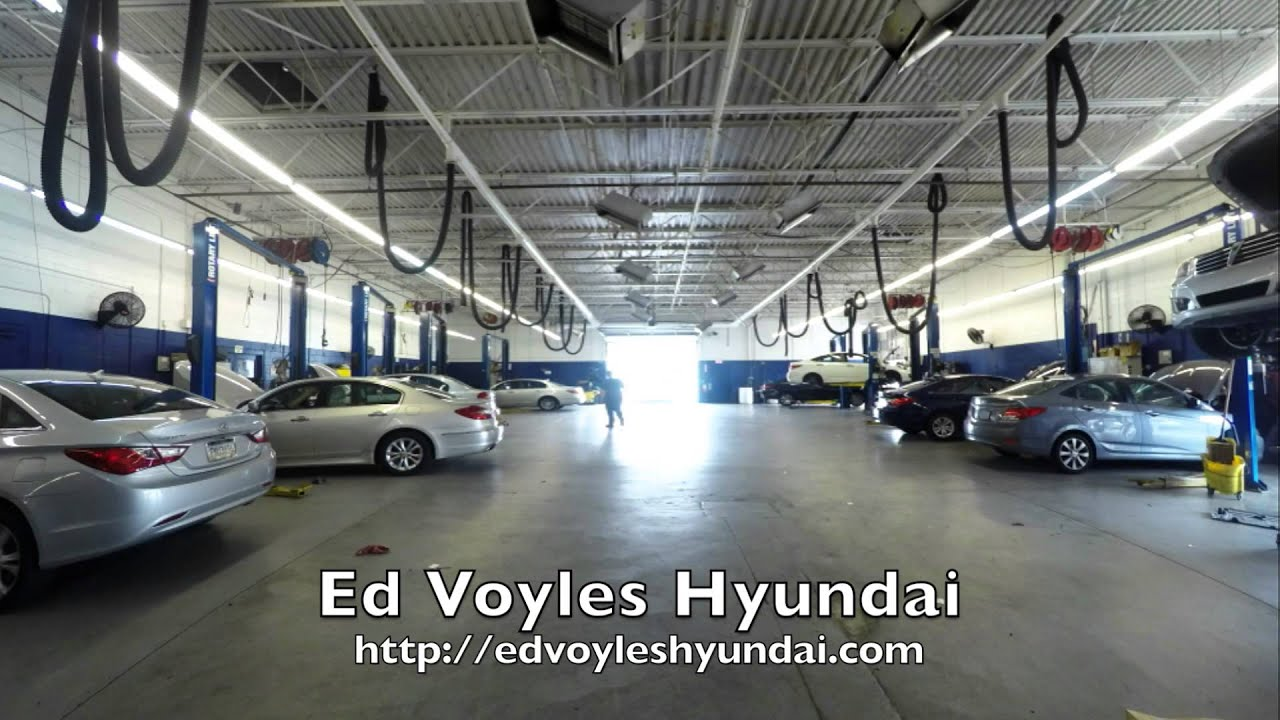 Welcome to the Ed Voyles Hyundai Service Departt - YouTube