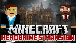 Minecraft Adventure | Herobrine's Mansion #1 | Vertez & Purpose