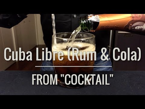 """Recreated - Cuba Libre (Rum & Cola) from """"Cocktail"""""""