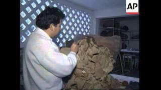 PERU: ARCHEOLOGISTS DISCOVER PRE-INCA PERIOD MUMMY
