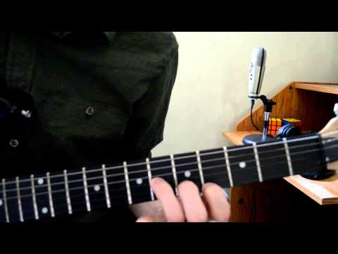 Hosanna Lead Guitar Tutorial Hillsong United