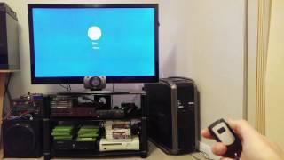 PC remote power key fob demo