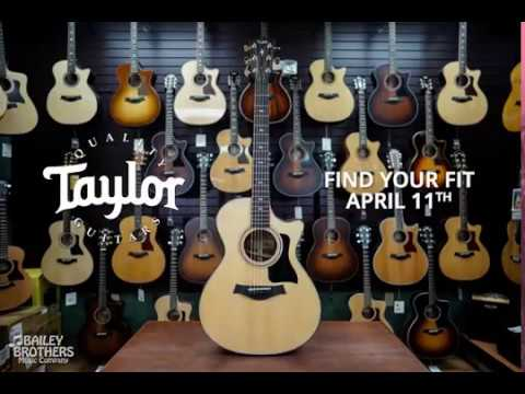 Taylor Find Your Fit - In Store Dealer Event