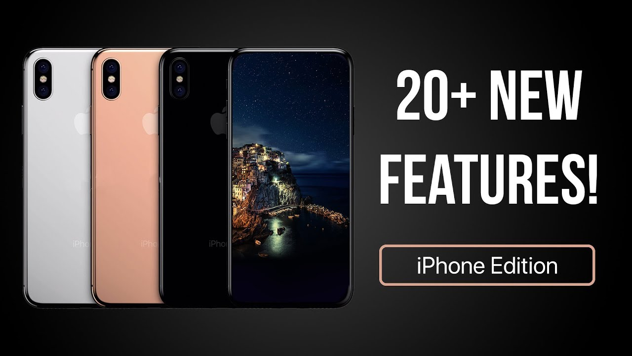 20 NEW Features Changes Coming To The IPhone Edition