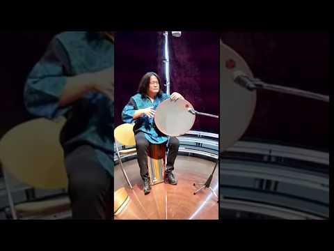 【音声なし・360度】大久保宙フレームドラム 栗田ひろ美アルパ