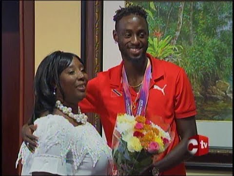 Welcome Home For T&T's Athletes At IAAF World Championships