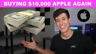 Buying $10,000 More Of Apple Stock AAPL? (MY INVESTING PLAN)