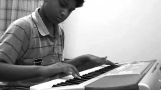 Runa Laila - Bondhu Tin Din Tor Barite Gelam ( instrumental ) on keyboard/Piano played by ambar