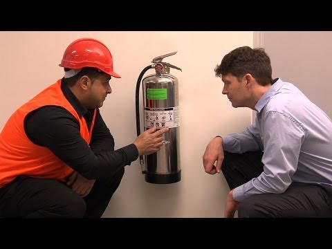 Office Fire Management Safety Training DVD Preview- Safetycare Workplace Building Work Safe
