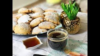 Печенье молочные коржики как в детстве | Простое печенье к чаю | Рецепт печенья за 5 минут