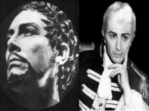 """Mario Del Monaco ( Live ) Franco  Corelli - """" Vesti la giubba """" ( Pagliacci )"""