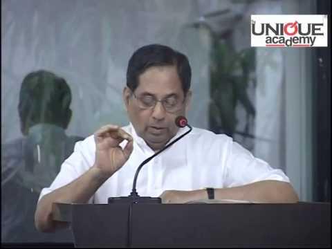Madhav Godbole Sir's (ex-IAS) Speech on Liberalization, Privatization and Globalization in India