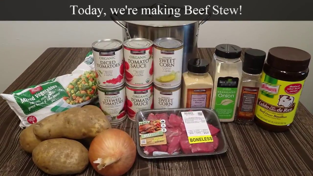 how to make homemade stew