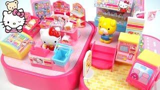 玩Hello Kitty 便利商店 凱蒂貓 當一日店長 玩具開箱 thumbnail