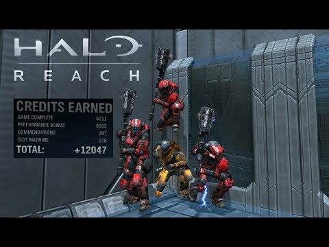 Quickest Way To Rank Up In Halo Reach 2018!!!