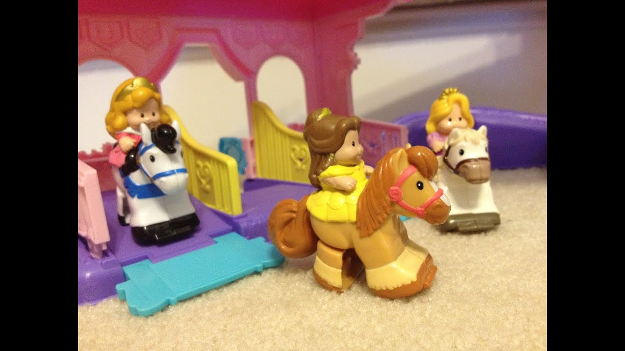 The Unboxing of the Princess Stable by Fisher Price - YouTube