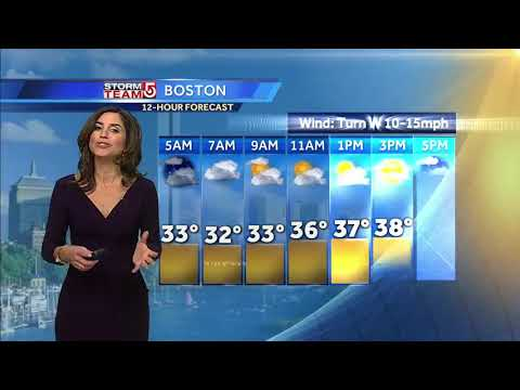 Video: Messy storm headed to region