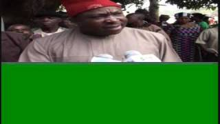 PETER OBI COMMENTS ON ELECTION DAY IN ANAMBRA STATE.wmv