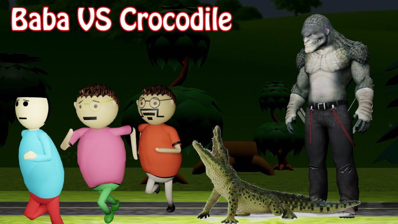Download Gulli Bulli And Crocodile Monster Part 2   Gulli Bulli Aur Sar Kata Part 2   Make Joke Horror