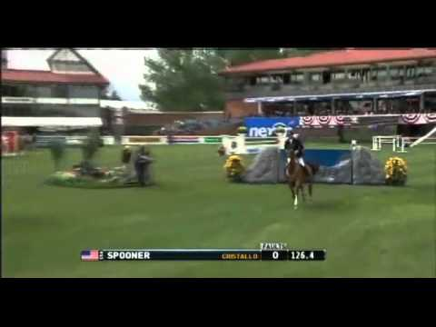 Calgary (Canada) Derby  2012/06/10  - 1. Richard Spooner (USA) & Cristallo  - 1,60 M Spruce Medawoes
