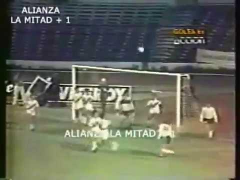 Peru 2 - Argentina 1 - Juegos Odesur 1986