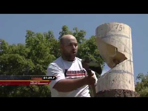 2015 Tioga County Fair Lumberjack Competition - Part 1